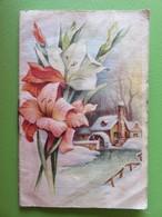 Calendrier 1956 - Chez Simone - 25 Rue Chanzy à Carmaux (Tarn) - Le Langage Des Fleurs - Calendriers