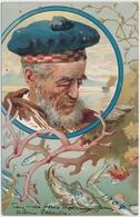 1908 Fischer - Gelaufen Ab Italien Nach Lausanne In Der Schweiz - Pêche