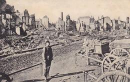 AK Malancourt - Deutscher Soldat - Ruinen Kutschen - Feldpost Bayer. Fuß-Art-Batl. 24 - 1917 (37068) - Verdun