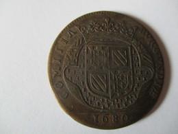 Jeton De Bourgogne - Paix De Nimègue 1680 - Royal / Of Nobility