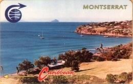 Montserrat - MON-3C, GPT, 3CMTC, Bay With Redonda, Coastal Areas, 40 EC$, 10.500ex. 1991, Mint - Montserrat