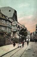 MARBURG A.d. Lahn, Barfüssertor (1910s) AK - Marburg