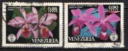 VENEZUELA - 1971 - ORCHIDEE - USATI - Venezuela