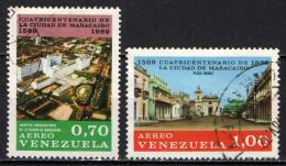 VENEZUELA - 1969 - 400° ANNIVERSARIO DELLA FONDAZIONE DELLA CITTA' DI MARACAIBO  - USATI - Venezuela