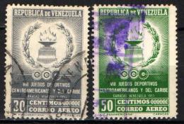 VENEZUELA - 1959 - GIOCHI SPORTIVI CENTROAMERICANI E DEI CARAIBI - USATI - Venezuela
