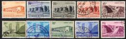 VENEZUELA - 1956 - SITI E MONUMENTI DEL VENEZUELA - USATI - Venezuela