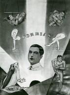 France Music Hall Cirque Artiste Acrobate Porrias Ancienne Photo 1950 - Professions