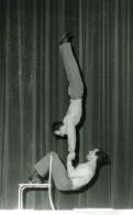 France Music Hall Cirque Artiste Les Constants Acrobate Ancienne Photo 1950 - Professions