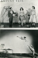 France Music Hall Cirque Artiste Acrobate Antony Trio Ancienne Photo Le Studio 1940 - Professions