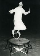 Belgique Music Hall Cirque Artiste Velo Acrobate Lou Louiss Monocycle Ancienne Photo 1950 - Professions