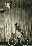 France Music Hall Cirque Artiste Velo Acrobate Frères Ballan Ancienne Photo Erpé 1950 - Professions