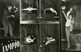 France Music Hall Cirque Artiste Acrobate Jongleur Tampio Ancienne Photo 1950 - Professions