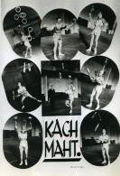 France Music Hall Cirque Artiste Acrobate Jongleur Kach Maht Ancienne Photo Endrey 1950 - Professions