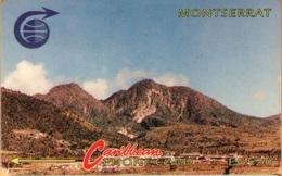 Montserrat -  MON-3B, GPT, 3CMTB, Soufriere, Mountains, 20 EC$, 25.500ex. 1991, Used/ Scratches - Montserrat