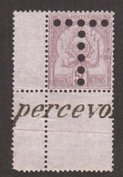 Tunisie  1898  - Timbre Taxe , 5f  , Yvert# 21 - Neufs Sans  Traces De Charnières  , Coin De Feuille , ** RARE . - Tunisie (1888-1955)