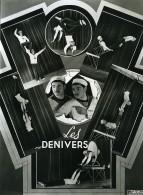 France Music Hall Cirque Artiste Acrobate Les Denivers Ancienne Photo Esnault 1950 - Professions
