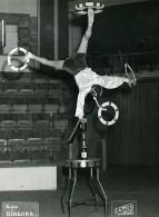 France Waziers Music Hall Cirque Artiste Acrobate Alain Diagora Ancienne Photo Luttica 1950 - Professions