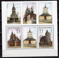 SLOVAKIA - 2008 Beauties Of Our Homeland - Wooden Churches  M246 - Slovaquie