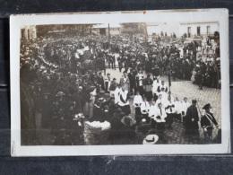 Z26 - 17 - Rochefort - Obseques D'une Victime Du Cuirassée Liberté - Carte Photo - 1911 Ou 1912  Texte Au Verso - Rochefort
