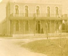 France Chatelaillon Etablissement D'Hydrothérapie Ancienne Stereo Photo Amateur 1900 - Stereoscopic