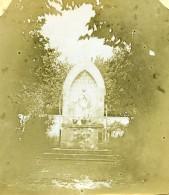 France Notre Dame De Chatelaillon Ancienne Stereo Photo Amateur 1900 - Stereoscopic