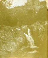 France Saint Maixent Puits D'Enfer Ancienne Stereo Photo Amateur 1900 - Stereoscopic