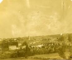 France Vienne Saint Pierre De Maillé Panorama Ancienne Stereo Photo Amateur 1900 - Stereoscopic