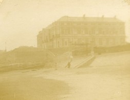 France Biarritz Palais De L'Impératrice Eugenie Ancienne Stereo Photo Amateur 1900 - Stereoscopic