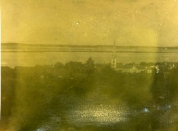 France Arcachon Panorama Ancienne Stereo Photo Amateur 1900 - Stereoscopic
