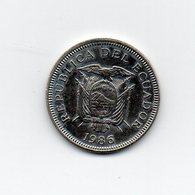 Ecuador - 1986 - 1 Sucre - Vedi Foto - (MW1609) - Ecuador