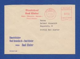 BRD AFS - BAD ELSTER, Staatsbad Auf Firmenbrief 7.1.91 - Thermalisme