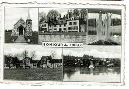 Bonjour De Freux - Circulée - Edit. Maison Devaux - 2 Scans - Libramont-Chevigny