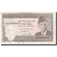 Billet, Pakistan, 5 Rupees, 1976, KM:28, TB - Pakistan