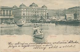 Croatia Rijeka Fiume / Palazzo Adria - Croatia