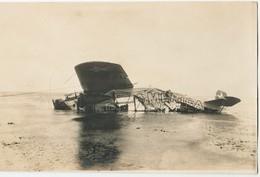 VER-sur-MER - Epave De L'América - Carte-photo 1er Juillet 1927 - France