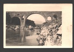 Podgorica / Titograd - Pont De Vezir / Vizier Bridge / Vezirmost - Photo Card Agfa - 1960 - Montenegro