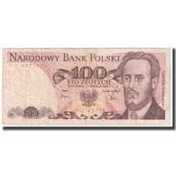 Billet, Pologne, 100 Zlotych, 1982, 1982-06-01, KM:143d, B - Pologne