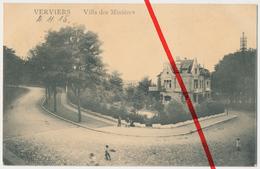 Verviers - Villa Des Minières - 1915 - Stempel Landsturm Infanterie-Batl. Soest - Verviers
