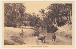Tozeur - Passage De L'Oued - Tunisie