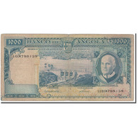 Billet, Angola, 1000 Escudos, 1970-06-10, KM:98, TB - Angola