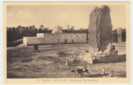 Tozeur - Bied-El-Ader, Mosquee Et Tour Byzantine - Tunesien