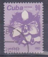 1983 Cuba - Fiori - Cuba