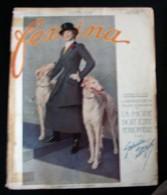 Revue FEMINA N°315 Du 1er MARS 1914 DORZIAT SAUER FURLANA PERRUQUE AMELIE PERICON BONI BARTHELEMY THOMSON REBOUX NADA - Books, Magazines, Comics
