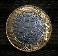 LSJP BRAZIL COIN 1 REAL 2016 - LOW SHOT - Brazil