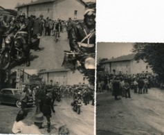 769 - Cyclisme - 3 Photos - Les Motards De La Gendarmerie Ouvrent La Course Cycliste - Sports