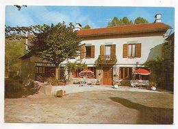 Cantal -- LAROQUEVIELLE --VERCUERES---Hotel Laporte ,spécialités Régionales--carte Publicitaire Toilée - Frankrijk