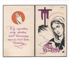 P.J.CHARLES VAN BAELEN ° GRUITRODE 1890 + BREE 1955 / JEANNE SCHOOLMEESTERS - Devotion Images