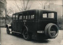 791 - 1 Photo - Autocar Lauret - Ligne Paris-Nice - Automobile