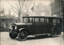 792 - 1 Photo - Autocar Lauret - Ligne Paris-Nice - Automobile