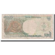 Billet, Indonésie, 500 Rupiah, 1992, KM:128a, B - Indonésie